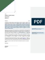 Modelo de carta de solicitud de donación