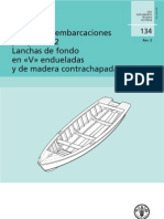 Fabricacion de Lancha de Madera
