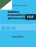 Statistics, Eco No Metrics and Forecasting