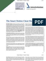 Smart Motion Cheat Sheet