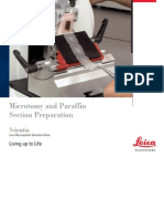 Microtomy Paraffin Section