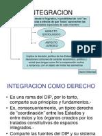 Derecho de la Integración - Introducción