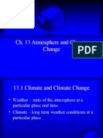 Ch 13 Atmosphere and Climate Change