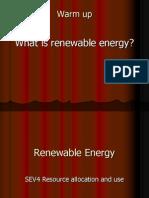 Ch 18 Renewable Energy