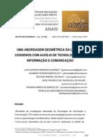 Demonstração lei-cossenos GEOGEBRA