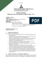 PAC - Farmacología 2011