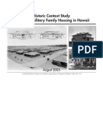 Military Family Housing in Hawaii History