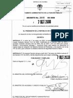 Decreto 3900 de 2008
