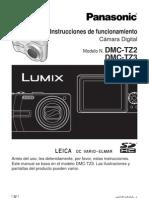 Manual Camara Panasonic Dmc-tz2 y tz3 Español