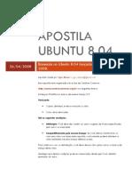 Apostila Ubuntu v8.04