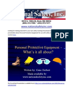 PPE Power Point (Personal Protective Equipment)