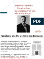 PC 1 Federal Power-Theodore Roosevelt and the Bully Pulpit-Student Program