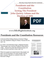 PC I Electing the President-John Quincy Adams and 1824-Student Program