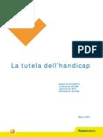 Documento Normativo La Tutela Dell'Handicap Marzo 2012