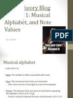 Music Theory Blog Episode 1