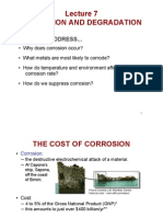 Lecture 7 Redox and Corrosion