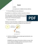 Resumo Físico Química Prof Joyce