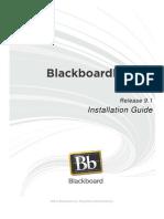 Blackboard Learn 9.1 Installation Guide