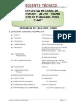 Expediente Técnico Iturasi-Viluyo-Tramo I