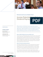 Dividend and Income Builder Fund Overview PO4086