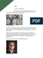Breve Historia Politica de Venezuela Periodo Democratico
