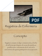 Registros de enfermeria