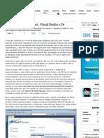 Criando Um Web Project _ Visual Studio e C#