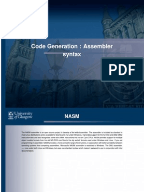 nasm | Subroutine | Assembly Language