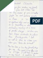 Carta de Bono a Ollanta