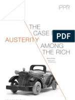 The Case for Austerity Among the Rich