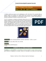 DETERMINACION ANFETAMINAS