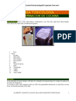 TOXI DETERMINACION COCAINA