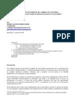 La Provision de Empleos en Colombia_cnsc