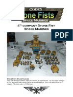 Strone Fist Space Marines Army List