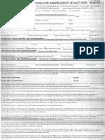 formulario 4life