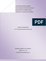 Diario de Aprendizaje Diagnostico Segunda Edicion
