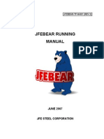 JFEBEAR TP M 001 _rev2_ Running Manual