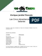 Jardiel Poncela, Enrique - Las Cinco Advertencias de Satanas
