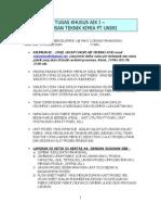 Panduan Tugas Khusus Aik 1 Tk Unsri- 2011