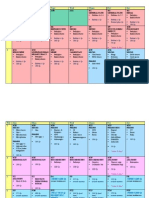 1st Aid Board Schedule