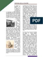 Breve reseña de los inicios de la aviación