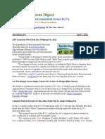 Pa Environment Digest April 2, 2012