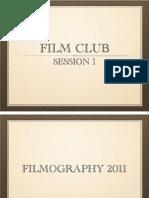 Session 1 - Awards Season