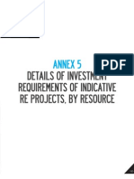 DOE-NREP-15. 123-132 Annex v-Investment Requirement for Various REnergy Projects Nationwide