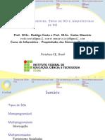 SO - 02 - Tipos e Arquiteturas