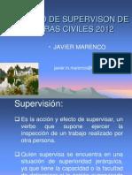 Curso de Supervison de Obras Civiles 2012 Clase Domingo 29 de Enero