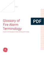 FX85001-0542 -- Glossary of Fire Alarm and Security Terminology