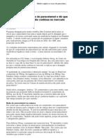 Médico explica os riscos do paracetamol e diz que não sabe por que remédio continua no mercado - 08_12_2005 - UOL News - Saúde - Entrevistas