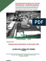 CAP DE LA MUNICIPALIDAD DISTRITAL DE SUCCHA