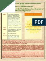 Gilbert G Gonzalez 2012 Lecture Flyer (2)